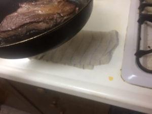 1ポンドステーキ ミディアムレア 自宅 簡単